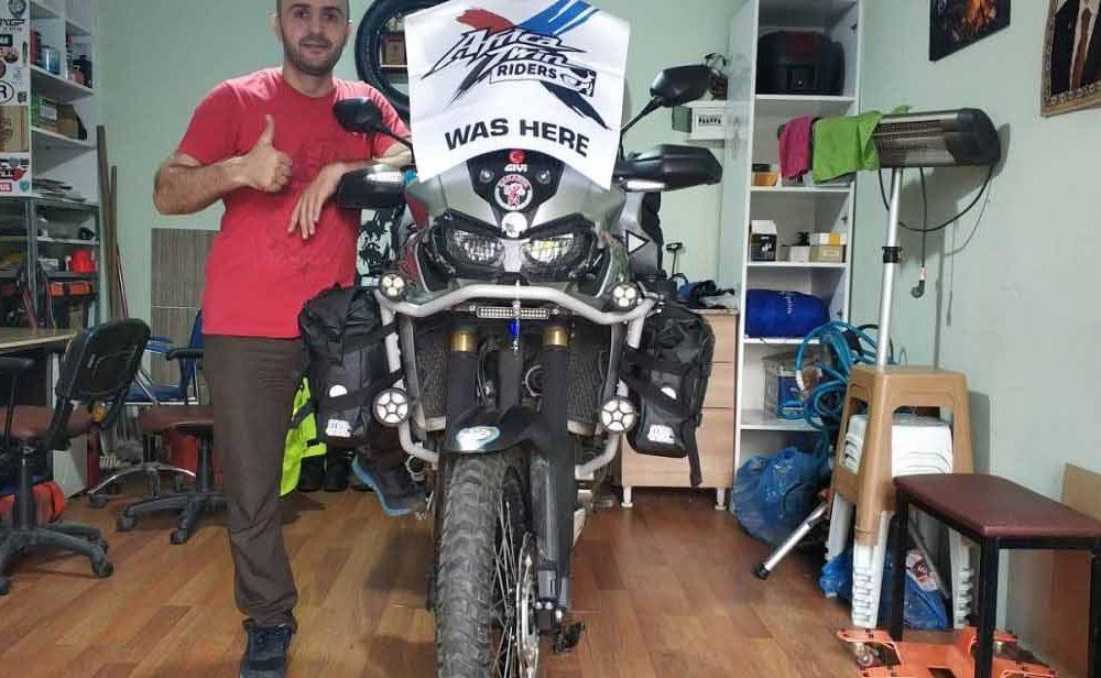 Motosiklet ile Pamir ve Moğolistan 1